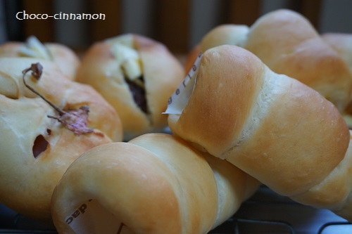 さくらあんパン、小倉バター、クリームコルネ.JPG