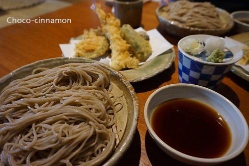 ざる蕎麦と天婦羅盛り合わせ.JPG