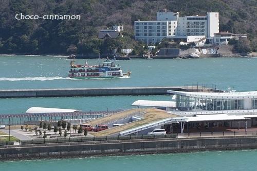 ホテルから見た海.JPG
