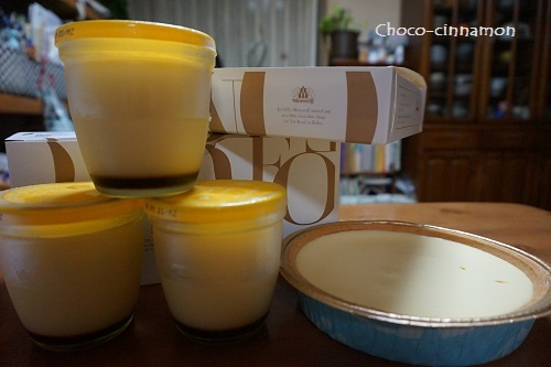 モロゾフプリン、チーズケーキ.JPG