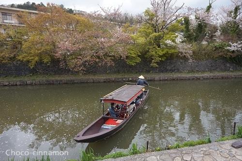 八幡堀和船.JPG