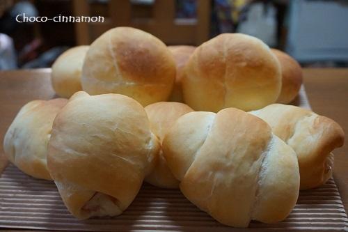 柚子あんパン、ハムチーズパン.JPG