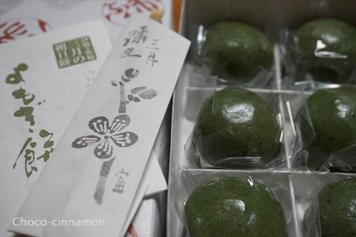 赤福3月朔日餅よもぎ餅.JPG