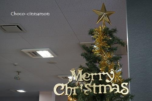 鈴鹿ジョイフィット クリスマスツリー.JPG